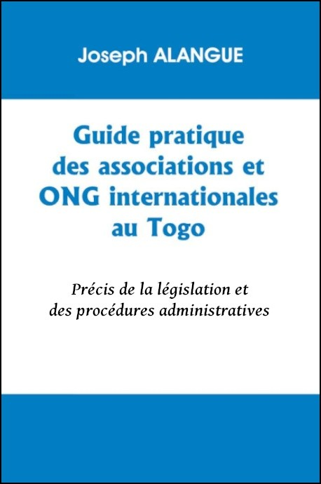 Guide pratique des associations et ONG internationales au Togo (eBook)